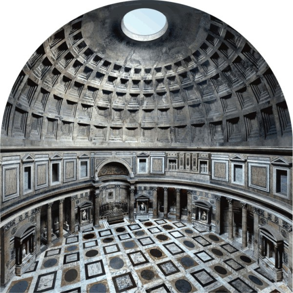 The Romans Made Magnificent Buildings And With Such Detail That Even For Me Its Pretty Hard To Imagine Or Believe Instance Their Domes